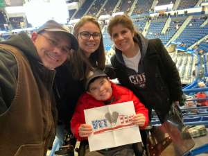 Brad and Family attended University of Connecticut vs. Baylor - NCAA Women's Basketball on Jan 9th 2020 via VetTix