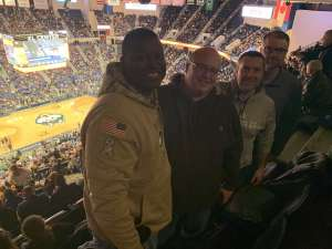 Cleeron attended University of Connecticut vs. Baylor - NCAA Women's Basketball on Jan 9th 2020 via VetTix
