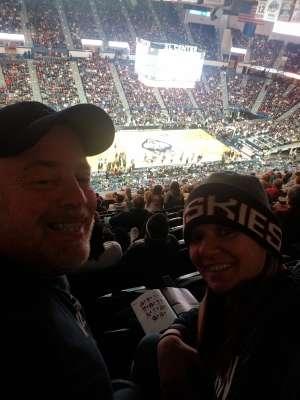 Joseph attended University of Connecticut vs. Baylor - NCAA Women's Basketball on Jan 9th 2020 via VetTix