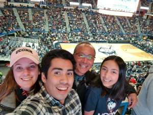 Dwight attended University of Connecticut vs. Baylor - NCAA Women's Basketball on Jan 9th 2020 via VetTix