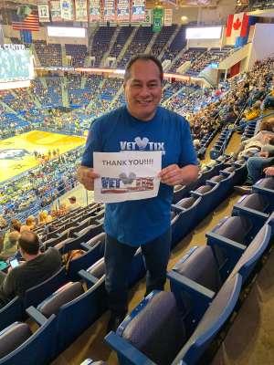 John attended University of Connecticut vs. Baylor - NCAA Women's Basketball on Jan 9th 2020 via VetTix