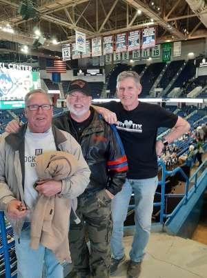 Gary attended University of Connecticut vs. Baylor - NCAA Women's Basketball on Jan 9th 2020 via VetTix