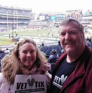 Stephen attended New Era Pinstripe Bowl: Michigan State Spartans vs. Wake Forest Demon Deacons - NCAA Football on Dec 27th 2019 via VetTix