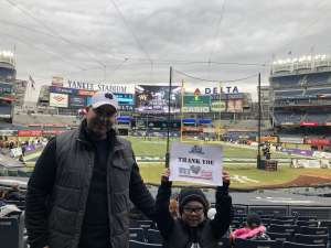 Sean attended New Era Pinstripe Bowl: Michigan State Spartans vs. Wake Forest Demon Deacons - NCAA Football on Dec 27th 2019 via VetTix