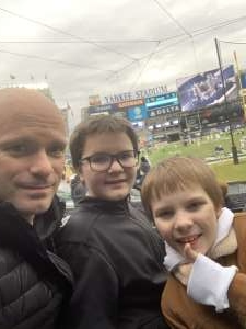 Shane attended New Era Pinstripe Bowl: Michigan State Spartans vs. Wake Forest Demon Deacons - NCAA Football on Dec 27th 2019 via VetTix