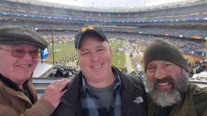 Craig attended New Era Pinstripe Bowl: Michigan State Spartans vs. Wake Forest Demon Deacons - NCAA Football on Dec 27th 2019 via VetTix
