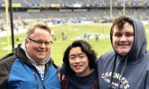 Glenn attended New Era Pinstripe Bowl: Michigan State Spartans vs. Wake Forest Demon Deacons - NCAA Football on Dec 27th 2019 via VetTix