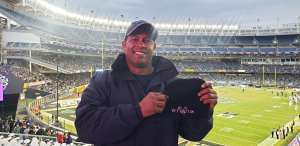 RAY attended New Era Pinstripe Bowl: Michigan State Spartans vs. Wake Forest Demon Deacons - NCAA Football on Dec 27th 2019 via VetTix