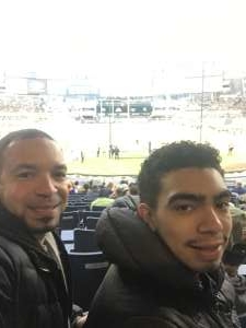 Alejandro attended New Era Pinstripe Bowl: Michigan State Spartans vs. Wake Forest Demon Deacons - NCAA Football on Dec 27th 2019 via VetTix