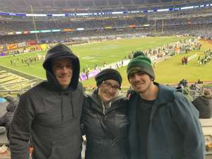michele attended New Era Pinstripe Bowl: Michigan State Spartans vs. Wake Forest Demon Deacons - NCAA Football on Dec 27th 2019 via VetTix