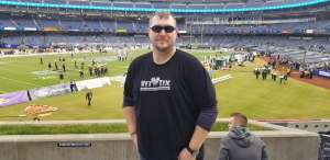 Gary attended New Era Pinstripe Bowl: Michigan State Spartans vs. Wake Forest Demon Deacons - NCAA Football on Dec 27th 2019 via VetTix