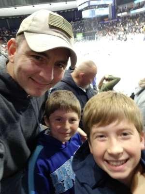 James attended Jacksonville Icemen vs. Orlando Solar Bears - ECHL on Jan 18th 2020 via VetTix