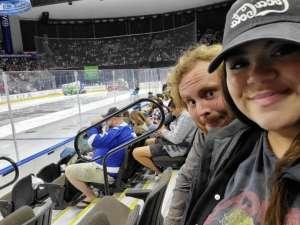 Gregorio attended Jacksonville Icemen vs. Orlando Solar Bears - ECHL on Jan 18th 2020 via VetTix
