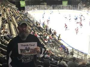 Curtis attended Jacksonville Icemen vs. Orlando Solar Bears - ECHL on Jan 18th 2020 via VetTix