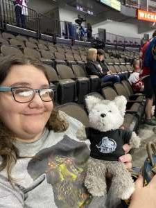 Clifford attended Jacksonville Icemen vs. Orlando Solar Bears - ECHL on Jan 18th 2020 via VetTix