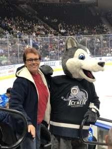 Brian attended Jacksonville Icemen vs. Orlando Solar Bears - ECHL on Jan 18th 2020 via VetTix