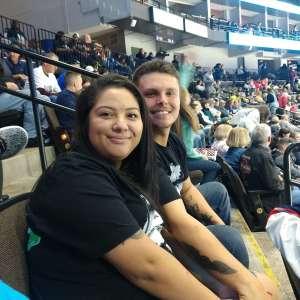Jaime attended Jacksonville Icemen vs. Orlando Solar Bears - ECHL on Jan 18th 2020 via VetTix