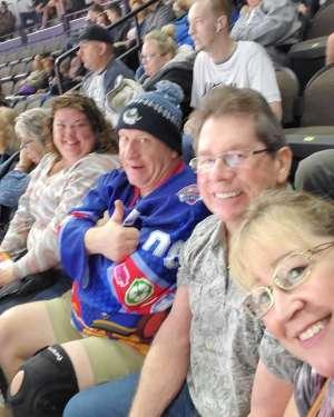 Franklin attended Jacksonville Icemen vs. Orlando Solar Bears - ECHL on Jan 18th 2020 via VetTix