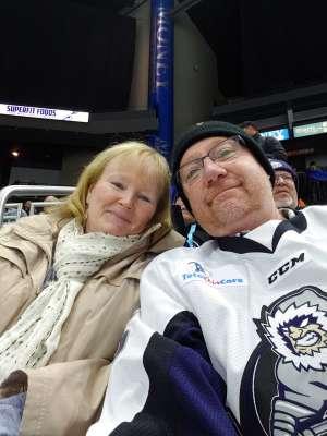 Ted C. attended Jacksonville Icemen vs. Orlando Solar Bears - ECHL on Jan 18th 2020 via VetTix