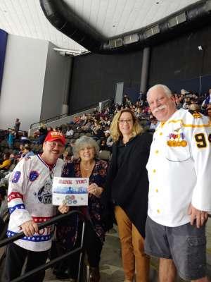 Thomas attended Jacksonville Icemen vs. Orlando Solar Bears - ECHL on Jan 18th 2020 via VetTix