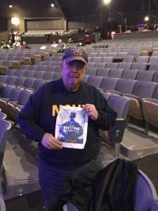 Francis attended Terry Fator on Dec 20th 2019 via VetTix