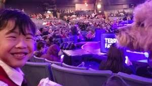 Richard attended Terry Fator on Dec 20th 2019 via VetTix