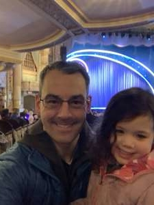 Michael attended Nick Jr. Live! Move to the Music on Jan 26th 2020 via VetTix