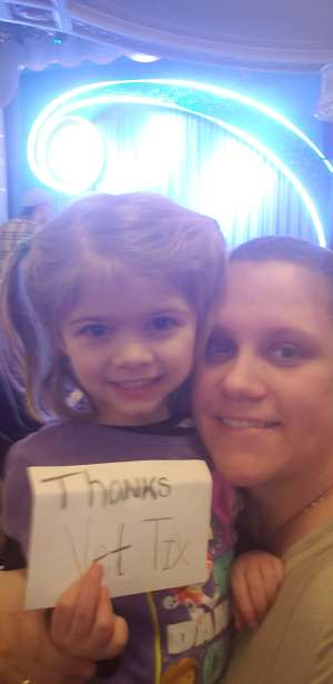 Nicole attended Nick Jr. Live! Move to the Music on Jan 24th 2020 via VetTix