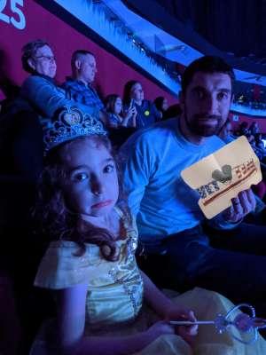 Louis attended Disney on Ice Presents Road Trip on Jan 10th 2020 via VetTix