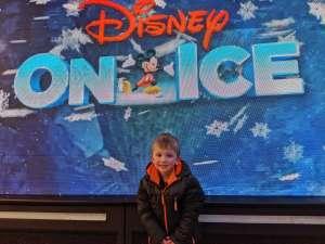 JC attended Disney on Ice Presents Road Trip on Jan 10th 2020 via VetTix