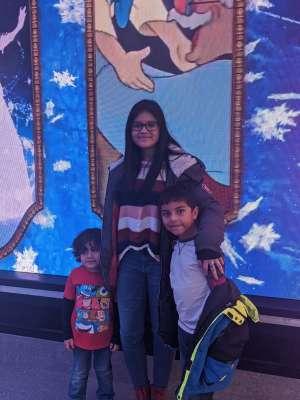 Jessica attended Disney on Ice Presents Road Trip on Jan 10th 2020 via VetTix