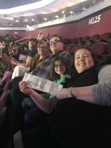KRISTIE attended Disney on Ice Presents Road Trip on Jan 10th 2020 via VetTix