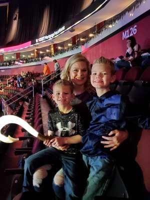 Michael attended Disney on Ice Presents Road Trip on Jan 10th 2020 via VetTix