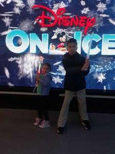 Hollie attended Disney on Ice Presents Road Trip on Jan 10th 2020 via VetTix