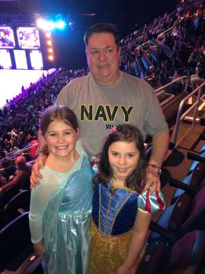 Miguel attended Disney on Ice Presents Road Trip on Jan 10th 2020 via VetTix