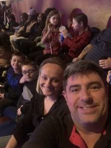 Joel attended Disney on Ice Presents Road Trip on Jan 10th 2020 via VetTix
