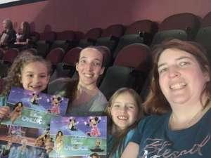 Tabitha attended Disney on Ice Presents Road Trip on Jan 10th 2020 via VetTix