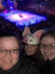 Tracy attended Disney on Ice Presents Dream Big on Feb 20th 2020 via VetTix