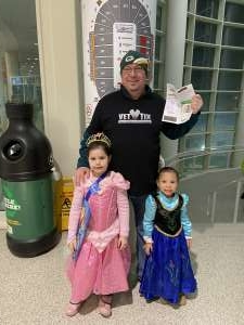 Theodore attended Disney on Ice Presents Dream Big on Feb 20th 2020 via VetTix
