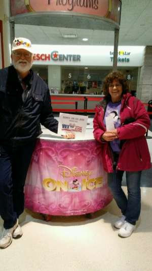 Donald - US Air Force attended Disney on Ice Presents Dream Big on Feb 20th 2020 via VetTix