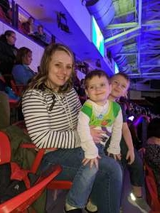 Anthony attended Disney on Ice Presents Dream Big on Feb 20th 2020 via VetTix