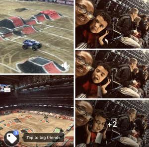 Ellena attended Monster Jam on Jan 25th 2020 via VetTix