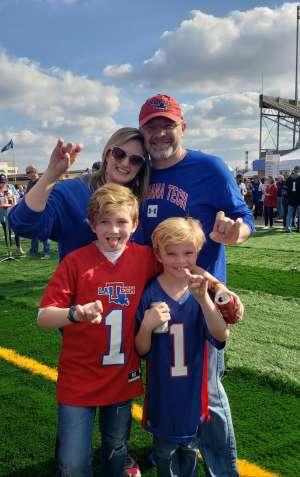 PERRY attended 2019 Walk On's Independence Bowl: Miami vs. Louisiana Tech - NCAA on Dec 26th 2019 via VetTix