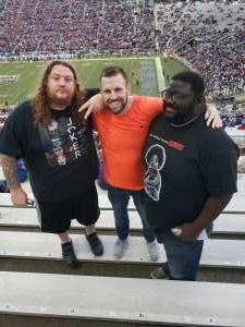 Jason attended 2019 Walk On's Independence Bowl: Miami vs. Louisiana Tech - NCAA on Dec 26th 2019 via VetTix