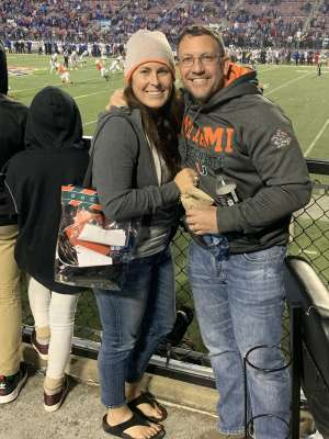 Robert attended 2019 Walk On's Independence Bowl: Miami vs. Louisiana Tech - NCAA on Dec 26th 2019 via VetTix