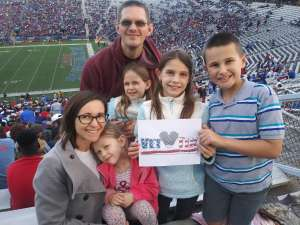 jeffery attended 2019 Walk On's Independence Bowl: Miami vs. Louisiana Tech - NCAA on Dec 26th 2019 via VetTix