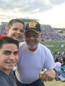 Tim attended 2019 Walk On's Independence Bowl: Miami vs. Louisiana Tech - NCAA on Dec 26th 2019 via VetTix