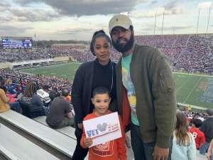 Eduardo attended 2019 Walk On's Independence Bowl: Miami vs. Louisiana Tech - NCAA on Dec 26th 2019 via VetTix