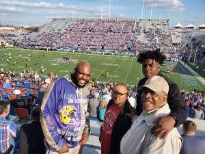 Brian attended 2019 Walk On's Independence Bowl: Miami vs. Louisiana Tech - NCAA on Dec 26th 2019 via VetTix
