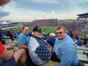JEROME attended 2019 Walk On's Independence Bowl: Miami vs. Louisiana Tech - NCAA on Dec 26th 2019 via VetTix
